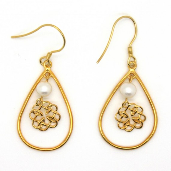 Celtic-Gold-Earrings