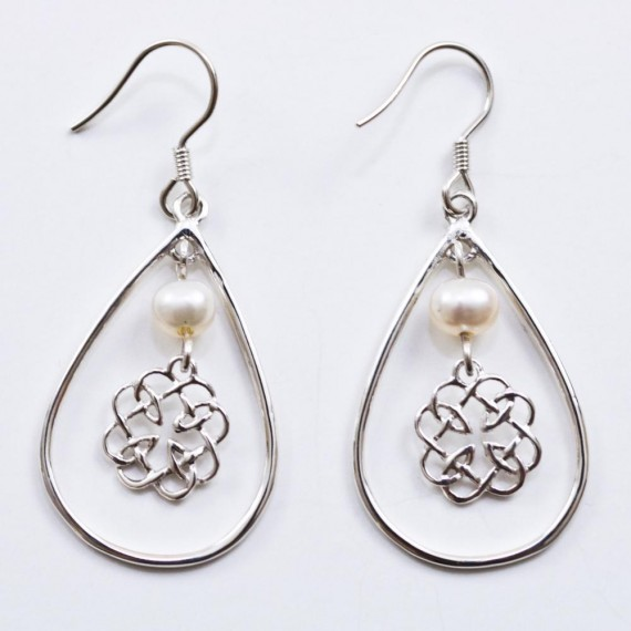 Celtic-Silver-Earrings