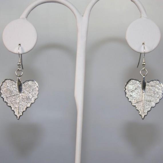 Falling-Leaves-Silver-Heart-Earrings