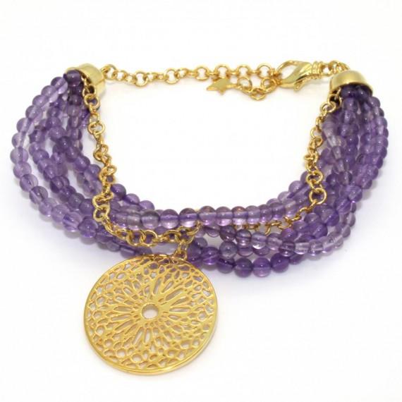 Mosaic-Gold-Bracelet
