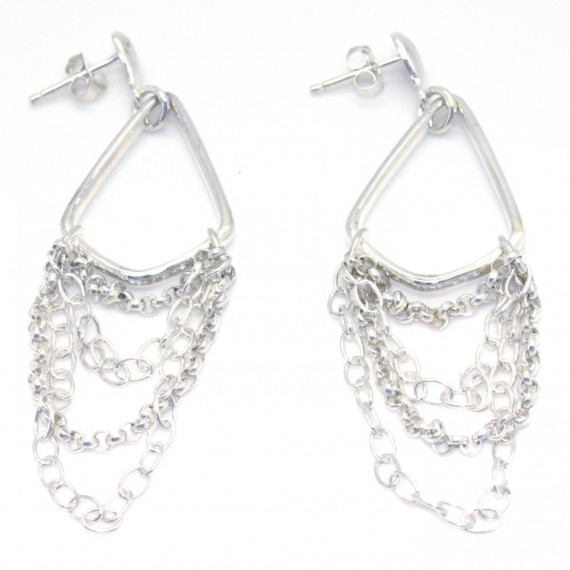 Silver-Chandelier-Dangling-Earrings