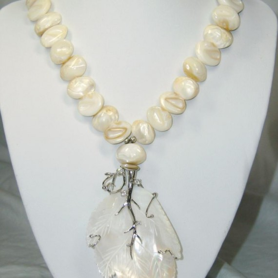 Silver-Signature-Necklace-w-Shell-Pendant